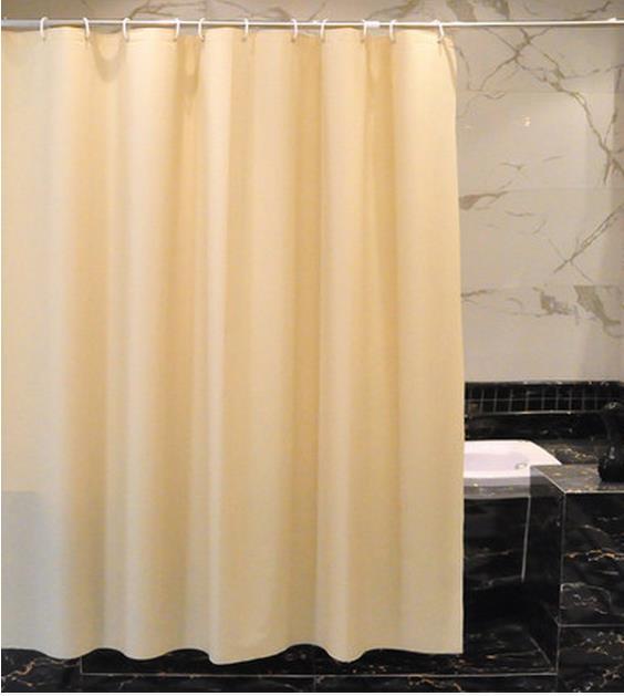 Livraison gratuite vert jaune de bain rideau avec une épaisseur ...
