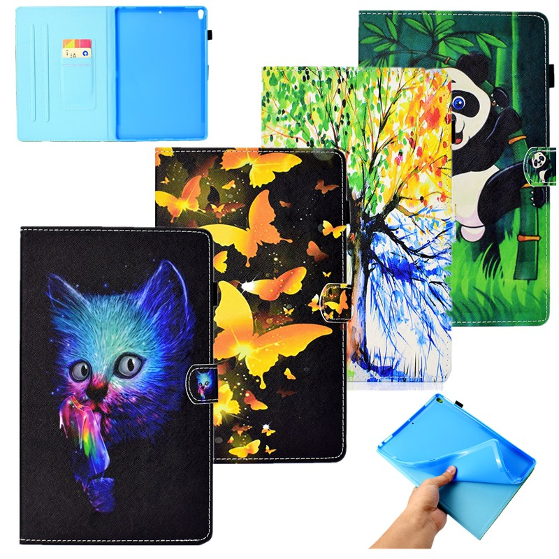 Tablet Accessories Disciplined Beautiful Tree Pu Leather Soft Back Case For Ipad Pro 10.5 Inch/flip Stand Wallet Tablet Cover Smart Case For Ipad Pro 10.5 To Assure Years Of Trouble-Free Service Computer & Office