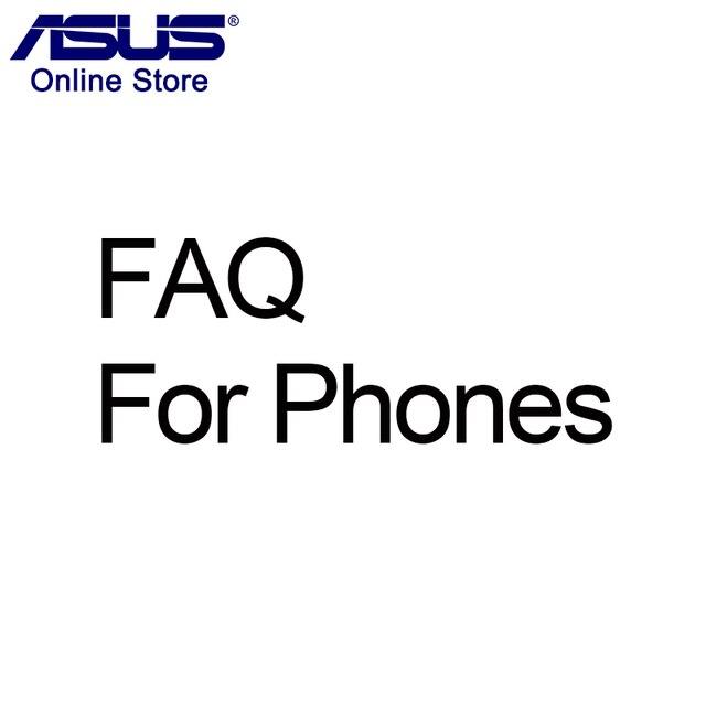 FAQ for phones