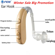 Cheap Hearing Aid Audifonos Para Sordos BTE Sound Amplifier Hearing Aids for Severe Profound Hearing Loss Like Siemens S-303