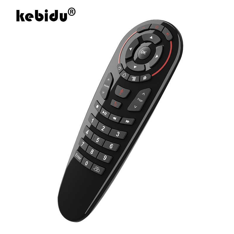 G30S 2.4G Draadloze Voice Remote met USB Microfoon Controle Smart Air Mouse Voor Gyro IR Leren voor Android TV box Mini H96 MAX