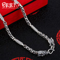 Beier new store 100% 925 silver sterling necklaces pendants dragon fine jewelry chains necklace for women/men  BR925XL077