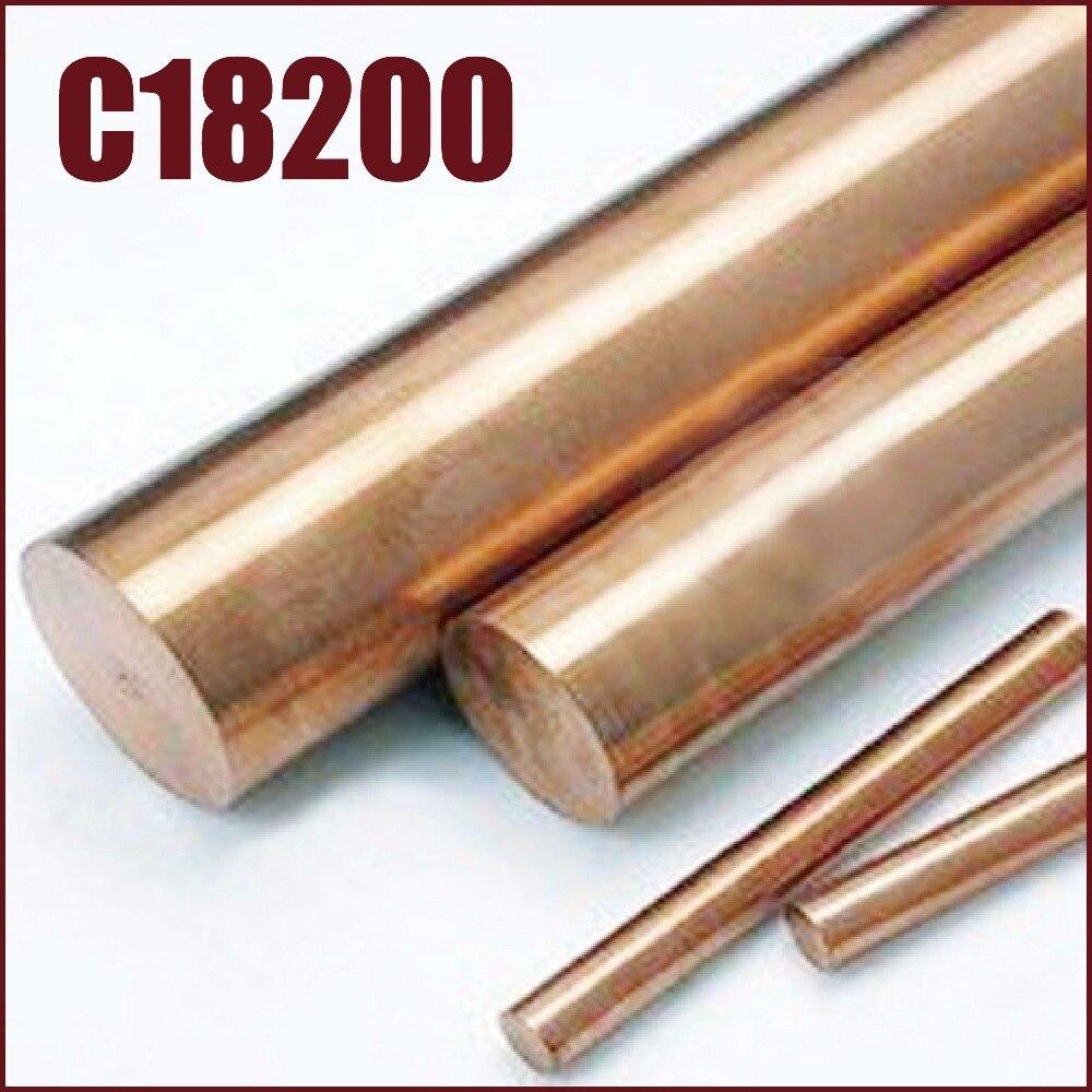 C18200 chrome tiges de cuivre alliage bronze zirconium cucrzr solide ronde