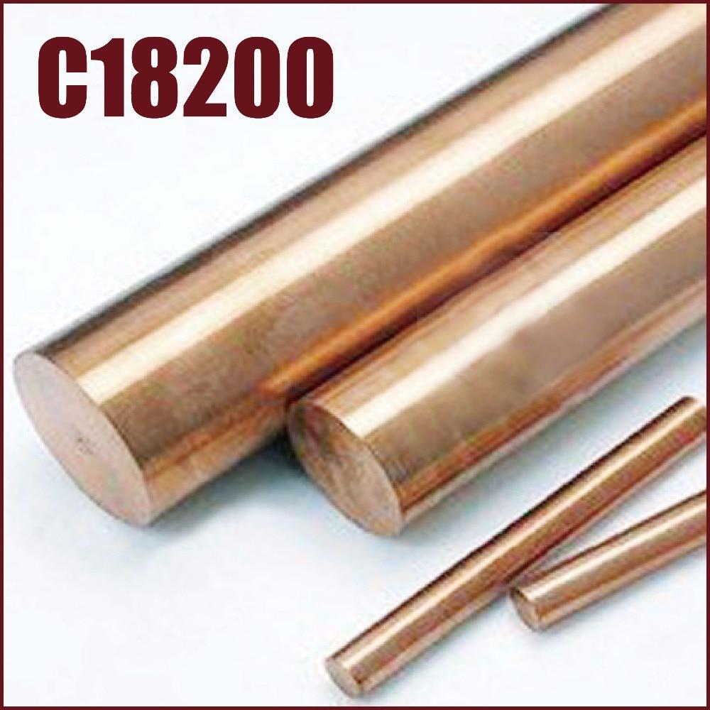 C18200 chromium copper rods alloy bronze zirconium cucrzr solid round