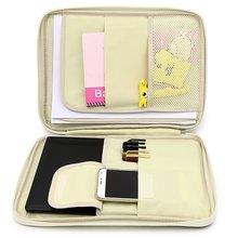 Jonvon Satone bolsa multifuncional A4 con cremallera, Accesorios de Escritorio, Organizador de Escritorio