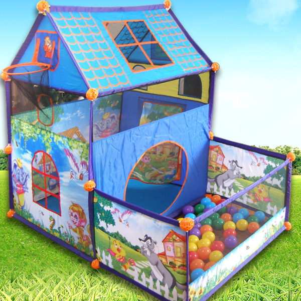 Childrenu0027s toys baby Baby Toddler dollhouse tent interior and exterior house large house marine ball  sc 1 st  AliExpress.com & Childrenu0027s toys baby Baby Toddler dollhouse tent interior and ...