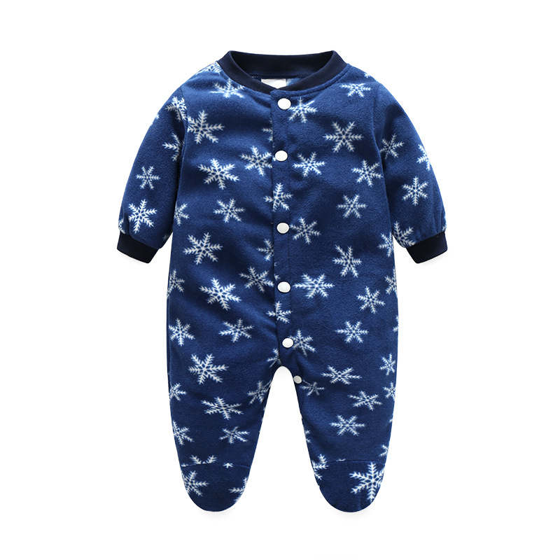 Brands Baby Romper Christmas Baby Snowsuit Winter Infant Clothing Fleece Jumpsuit Animal Coveralls Newborn Baby Boy Girl Clothes baby rompers baby winter coveralls infant boy girl fleece romper ropa nena invierno knitted stripe jumpsuit bebe newborn outwear
