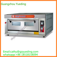 New Design China Manufactory 1 deck 3 trays Gas Oven Pizza Oven Good Quality Bakery Oven