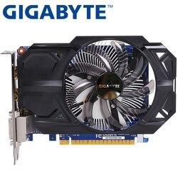 Видеокарта GIGABYTE, оригинал, GTX 750 Ti, 2 Гб, 128 бит, GDDR5, видеокарта для nVIDIA Geforce GTX 750Ti, Hdmi, Dvi, б/у, VGA карты