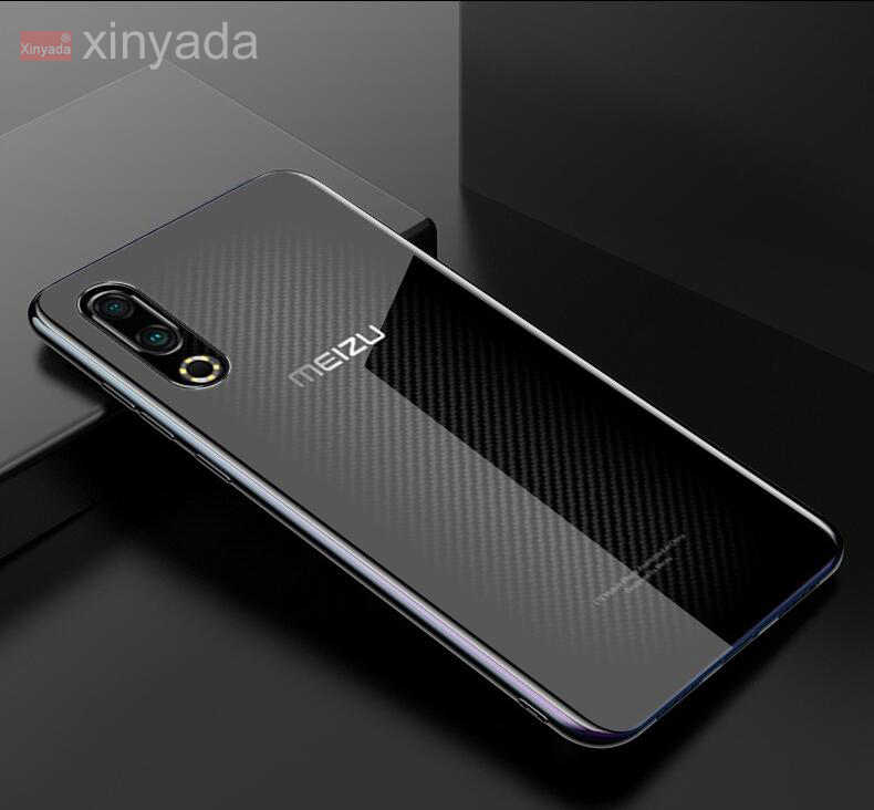 Case Voor Meizu 16S 16XS 16 XS Case Cover Clear Zachte Siliconen Gel TPU Bumper luxe Shell coque Armor huis