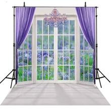 Window Wedding Photography Backdrops Vinyl Backdrop For Photography Curtain Background For Photo Studio Foto Achtergrond