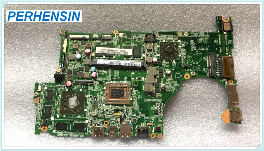 For Acer For Aspire V5-552G laptop motherboard DA0ZRIMB8E0 REV E NBMCU11001 NB.MCU11.001 100% WORK PERFECTLY