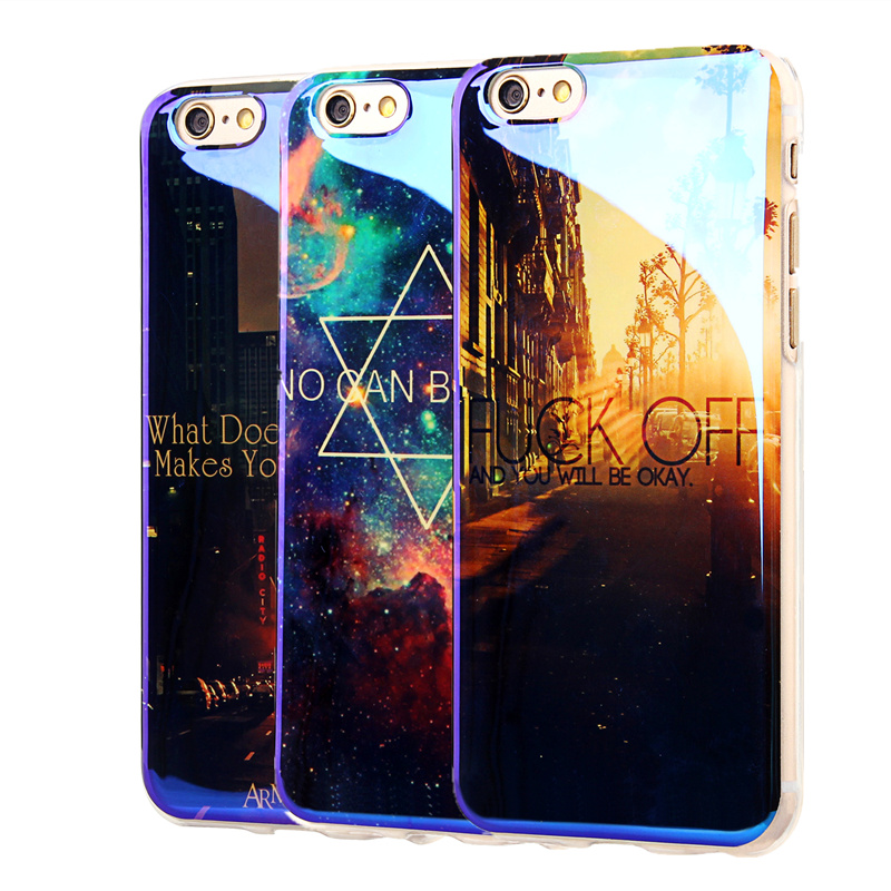 TPU Case for iPhone 6 6S 6Plus New Arrival Cover For Apple 7 7Plus IMD Flower Paris <font><b>Blu-ray</b></font> Soft Silicon Design <font><b>Cell</b></font> Phone Cases
