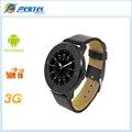 CHEGADA de NOVO! s366 smart watch com pulseira de couro hd tela de toque inteligente bluetooth sincronização do relógio relógio de pulso para ios smartphone android