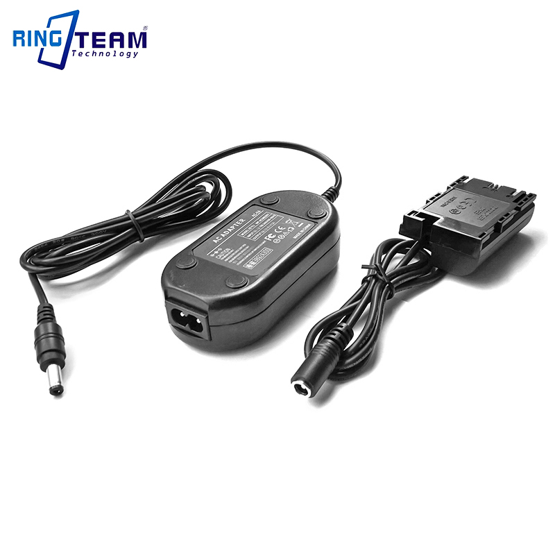 Fully Decoded ACK-E6 AC Power Adapter Supply For Canon EOS 5D Mark IV III II 5D4 5DS 5DS R 6D 7D 7D Mark II 60D 70D & 80D Camera