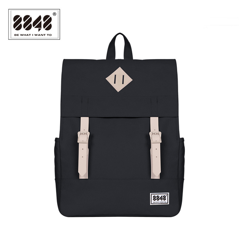 8848 Casual Women's Backpack School Bag Female Backpack 15.6 Inch Laptop 14.2 L Waterproof Oxford Backpack Mochila 173-002-008
