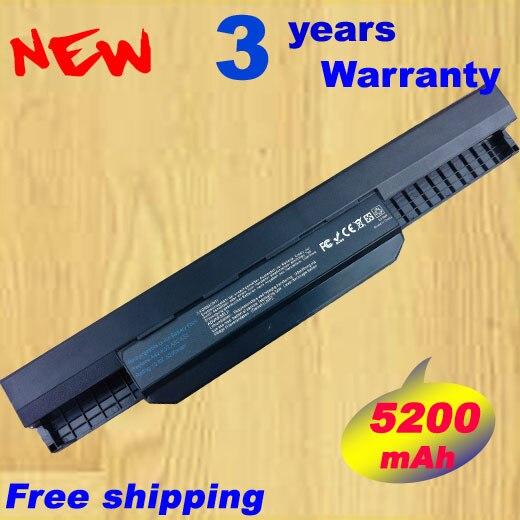 Batterie d'ordinateur portable POUR ASUS K53SC K53SD K53SJ K53SK K53SM K53SV 11.1 V 5200 MAH