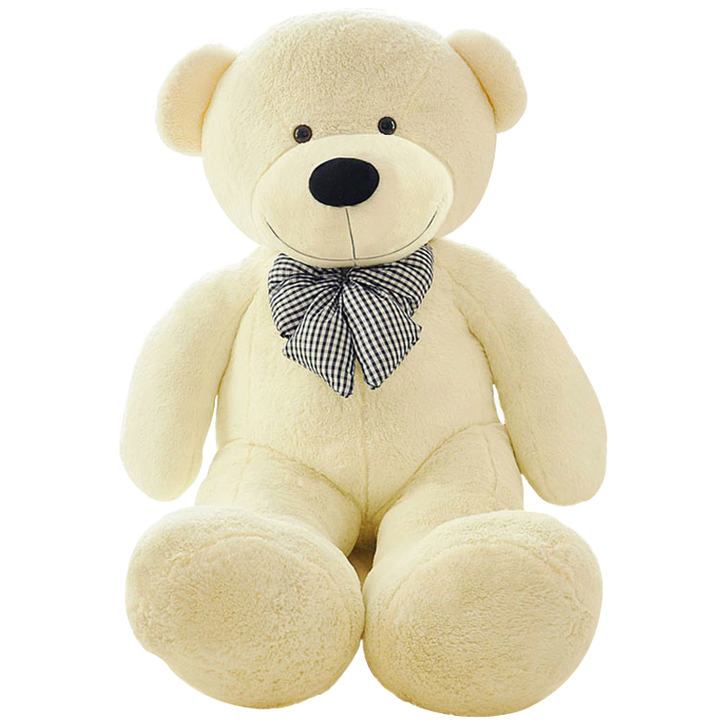 High quality Low price Plush toys large size100cm / teddy bear 1m/big embrace bear doll /lovers/christmas gifts birthday gift 70cm fluorescent bear wedding birthday gift wholesale creative new large plush bear toys to give their children christmas gifts