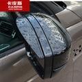 Car Rain Shield Car Rear View Side Mirror Rain Eyebrow For Range Rover Evoque 2012-2016 Accessories Car Styling