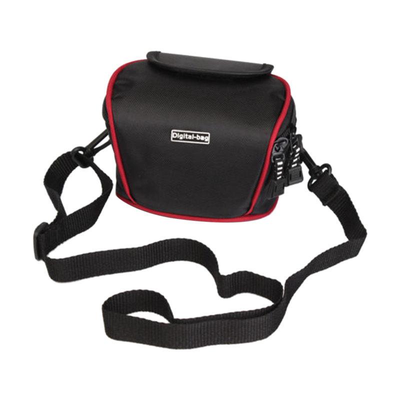 Compact Dslr Camera Case Bag With Strap For Canon Nikon SONY Panasonic Samsung image