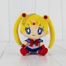 15cm Anime Sailor moon Plush Toys Cute Tsukino Usagi Soft Toys Gift For Children
