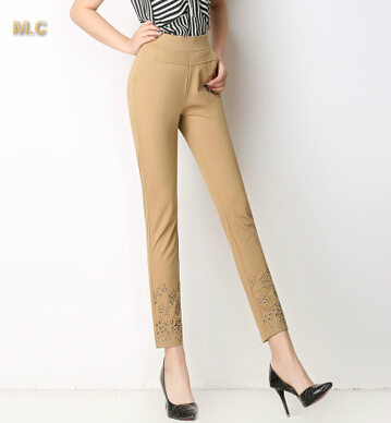 Popular White Khaki Pants Women-Buy Cheap White Khaki Pants Women ...