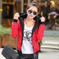 2016 New Winter Ultra Light Down Jacket Hooded Fashion Wild Short Coat Thick Warm Parkas Outwear Feminino Tops Wholesale