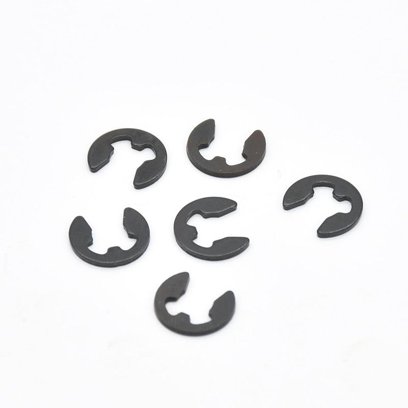 100Pcs DIN6799  M1.2-M8 6  Retaining Ring 65 manganese steel Circlip Sack Retainer E E-type Buckle-shaped Split Washers GB896100Pcs DIN6799  M1.2-M8 6  Retaining Ring 65 manganese steel Circlip Sack Retainer E E-type Buckle-shaped Split Washers GB896