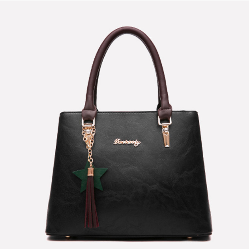 Luxury brand retro handbag high quality leather material ladies tassel pack clutch evening bag sac a main bolsa feminina canta