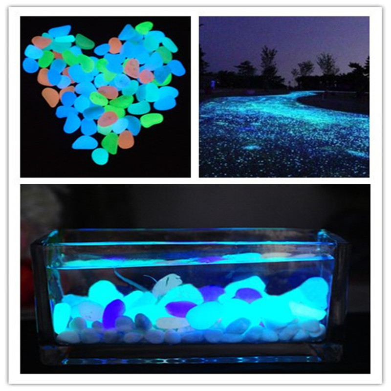 Buy 10 pcs lot luminous light emitting for Aquarium stone decoration