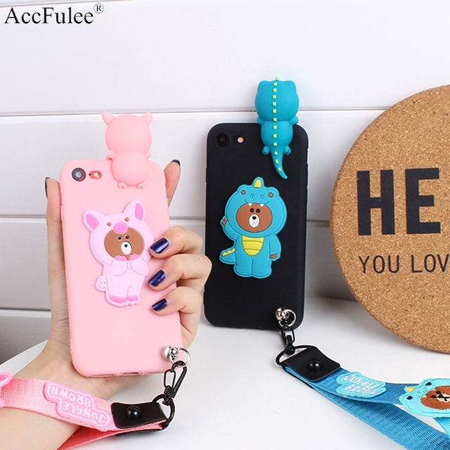 best service 15cd8 cf9dd US $2.88  3D Cute Lovely Bear Case For Google Pixel XL Pixel2 Pixel 2 XL  3XL 3 Cartoon Crocodile Pig Case Funda Coque-in Fitted Cases from  Cellphones ...