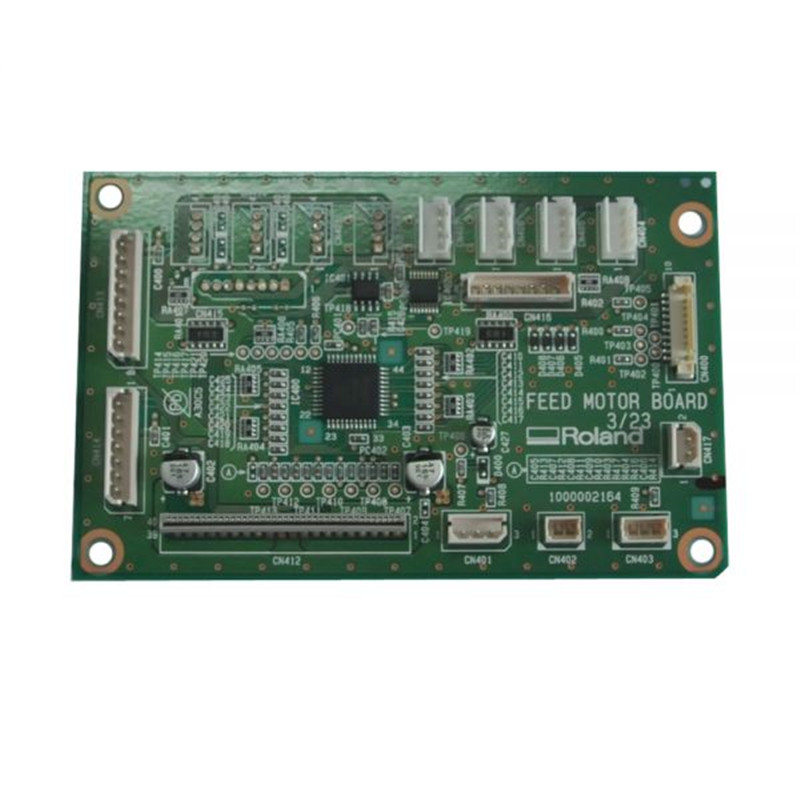 Original Roland RS-640 Feed Motor Board W700981230 no tax ship from factory new release diy 3040t cnc frame for 3040 cnc router with trapezoidal screw for milling machine frame