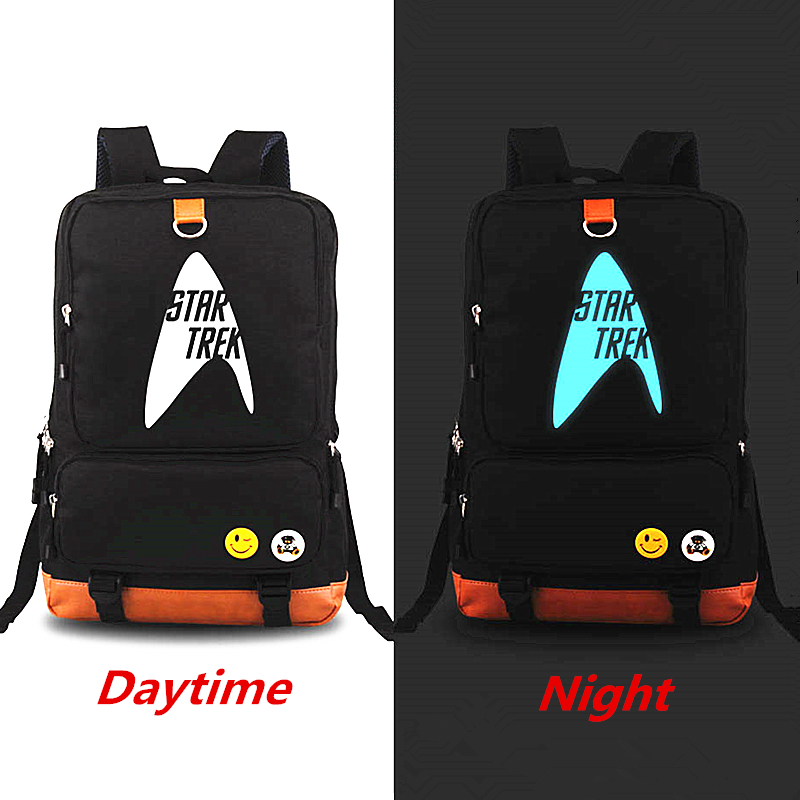 Star trek Backpack Teenagers Laptop Bags Backpacks Men Women's School Bags Travel Shoulder Bag Bags Student Schoolbags Mochila zelda laptop backpack bags cosplay link hyrule anime casual backpack teenagers men women s student school bags travel bag