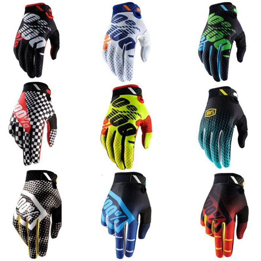 Spring Summer Full Finger Motorcycle Gloves Gants Moto Luvas Motocross Leather Motorbike Waterproof Windproof Racing Gloves
