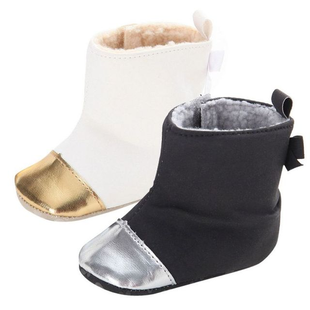 Baby Shoes Winter Warm Boot First Walkers Ankle Snow Boots Toddler Baby  Boys Girls Soft Shoes 7b03ceb84