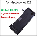 "A1322 63.5wh A1322 Batería Del Ordenador Portátil para Macbook para Macbook Pro 13 ""A1278 Mediados 2009 2010 2011 MC700 MC374 MB990"