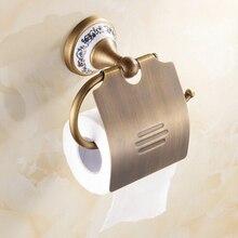 Высокое качество античная туалетной бумаги бумаги полотенцедержатель ванной комнаты оборудования роскошные бумагодержатель