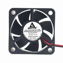 Gdstime 50mm Mini Cooler Radiator DC 24V 2Pin CPU Heatsink Cooling Fan 5020 50x50x20mm gdstime 1 piece 12v 50x50x20mm 5020 2pin ball bearing 5cm industrial dc motor equipment case cooling fan 50mm x 20mm cooler