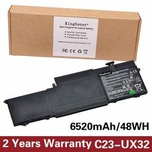 Корея сотовый kingsener Новый C23-UX32 ноутбука Батарея для Asus Vivobook U38N U38N-C4004H Zenbook UX32 UX32A C23-UX32 7.4 В 6520 мАч
