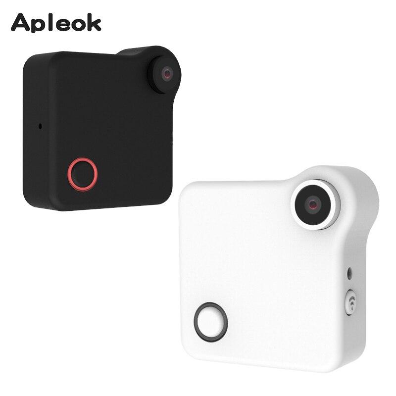 2017 New Mini Wifi IP Camera 720P HD Body Wearable Camera ...