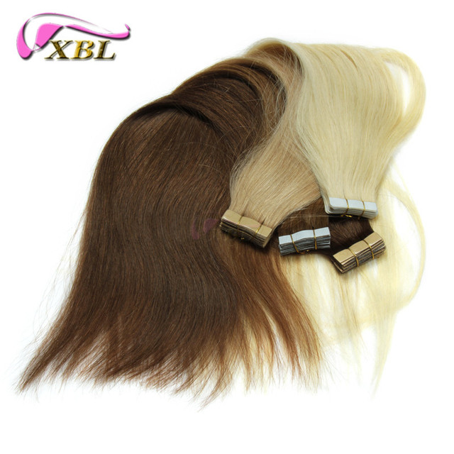 Good Quality Tape Human Hair Extensions 2gpc Pu Skin Weft Remy Hair