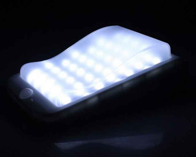Solar Lampen Tuin : Originaliteit solar licht lampen outdoor 38led motion sensor solar