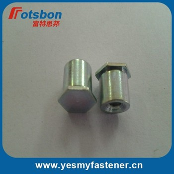 BSO-M6-22 Blind Hole Standoffs, carbon steel, zinc, in stock, PEM standard ,made in china