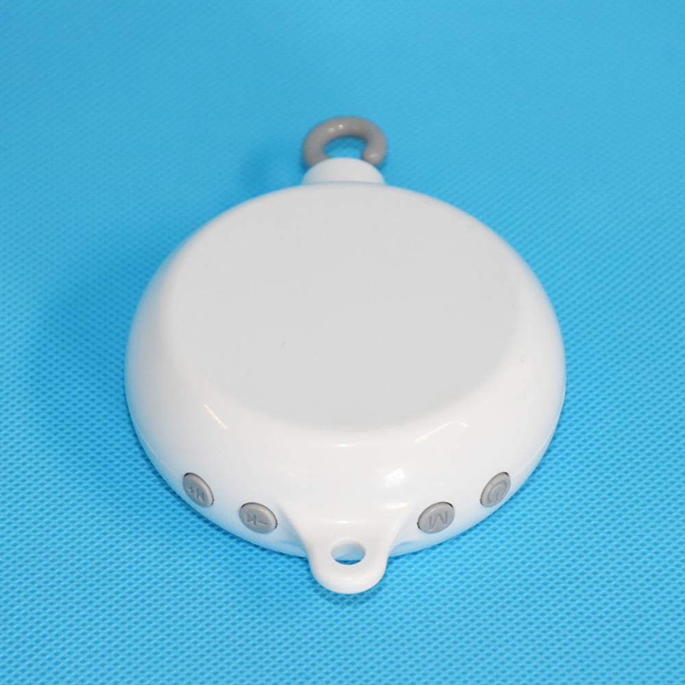 35 Songs Rotary Baby Crib Bed Bell Toy Battery-operated Music Box  Bell Crib Baby Kids Funny Early Educational Toy