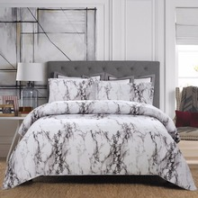 Duvet Cover with Zipper Closure Marble  Pattern bedding set duvet cover 1pc quilt only twin queen