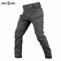 New Military Tactical Cargo Pants Fleece Shark Skin Softshell Pants Men Waterproof Breathable Combat Pants Male Casual Trousers