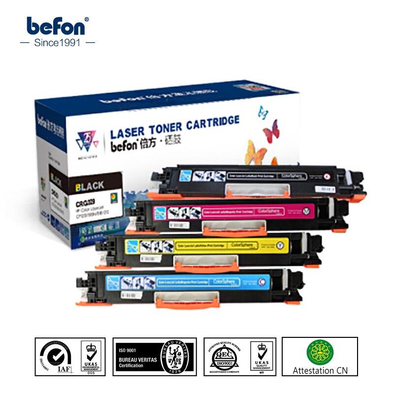 Befon 4 pcs CRG-329 CRG329 CRG 329 CRG729 729 129 Cartouche De Toner Compatible pour Canon Laser De Toner LBP7010C 7010 LBP7018C LBP7018