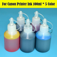 5 Colo/Lot 500ml Printer Ink For CANON PGI CLI 670 671 570 571 470 471 770 771 270 271 170 171 970 971 Ink Cartridge Ciss стоимость