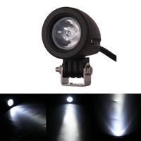 2pc 10W 1000 Lumen 10 30V DC High Power Offroad LED Work Light Spot Lamp Fog