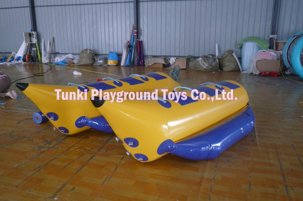 3 seats Topgrade Quality Inflatable Banana Boat Towable